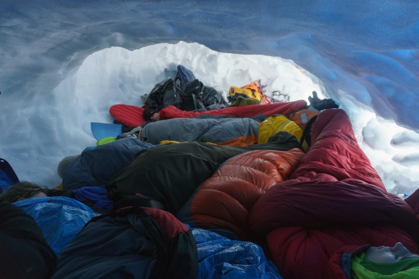 Snow Caving Trip